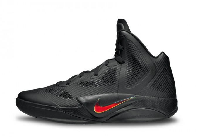 Nike Zoom Hyperfuse 2011 Black Metallic Luster Black
