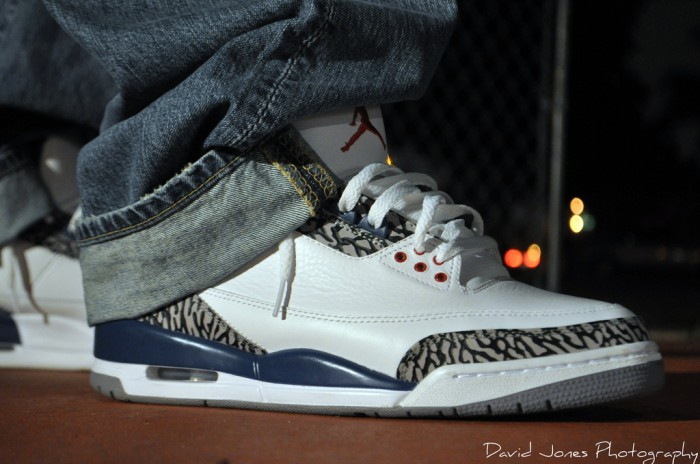 "Sole Shots: ""True Blue"" Air Jordan III – DJ-47"