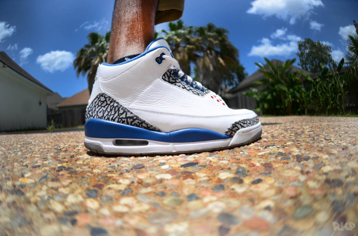 "Sole Shots: ""True Blue"" Air Jordan III – ItzRaza786"