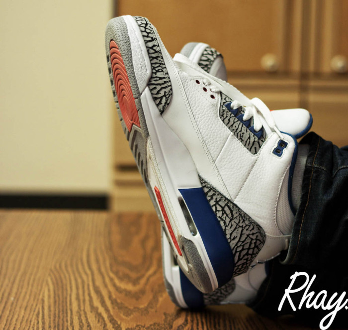 "Sole Shots: ""True Blue"" Air Jordan III – ToMbZ"