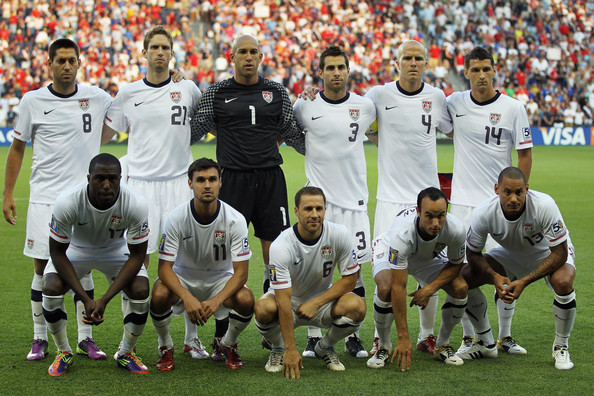 Where in the world is the U.S. men's national team?