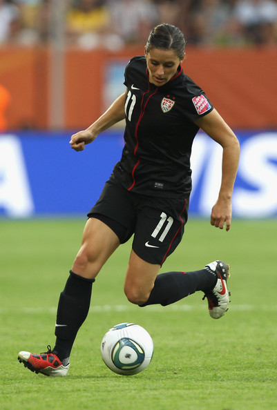 Alex Kreiger of the USA wearing the Nike T90 Laser.