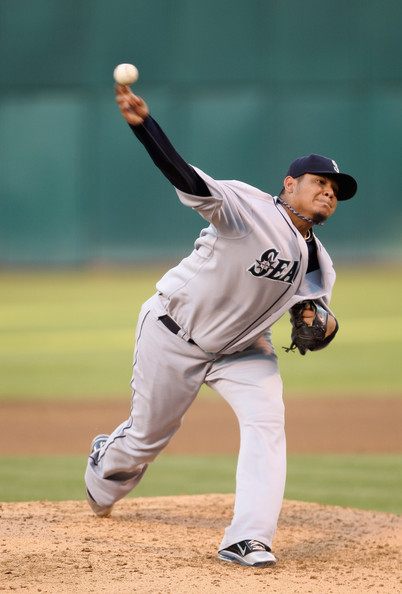 Felix Hernandez has one of the better Player Exclusive Nike baseball cleats.