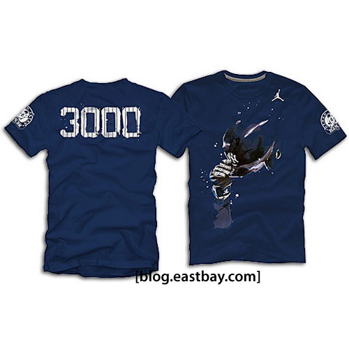 Jordan Jeter 3,000 Hits T-Shirts Now Available Navy