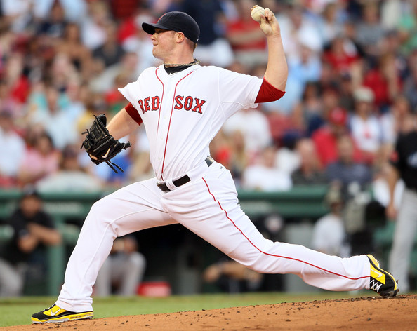 Jon Lester continues his support of LIVESTRONG with new Nike baseball cleats.