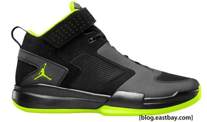 Black And Yellow Jordan Shoes Mostly Black