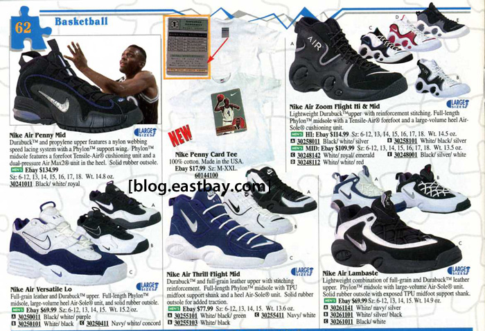 best sneakers 815aa d935e ... Eastbay Memory Lane Penny Hardaway Signatures Air Penny BlackVarsity  Royal
