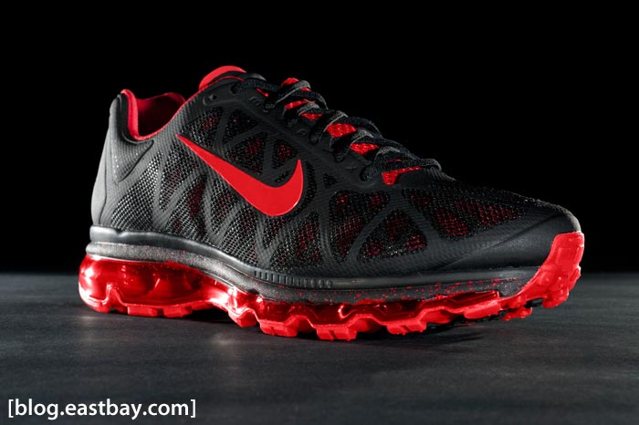 Nike Air Max 2011+ Black/Sport Red