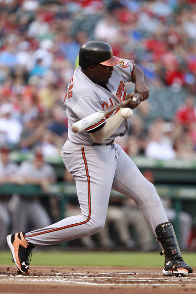 Vlad Guerrero has made the move to Under Armour baseball cleats.