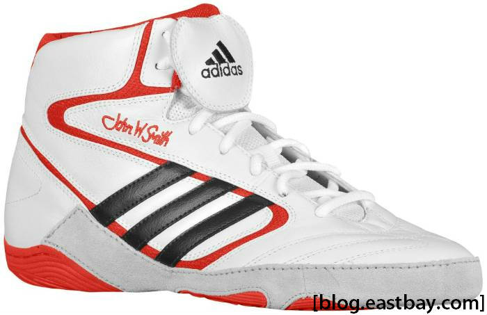 Eastbay Wrestling Shoes White