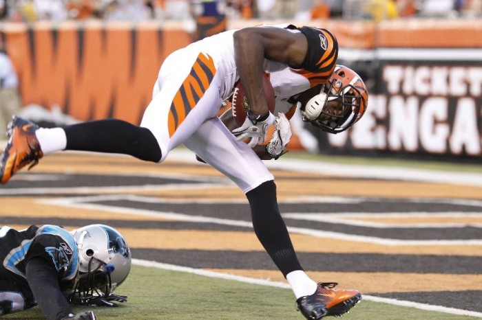 AJ Green wearing Nike Zoom Vapor Carbon Fly