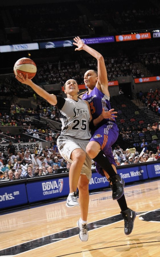 Becky Hammon in the Nike Zoom Kobe VI.