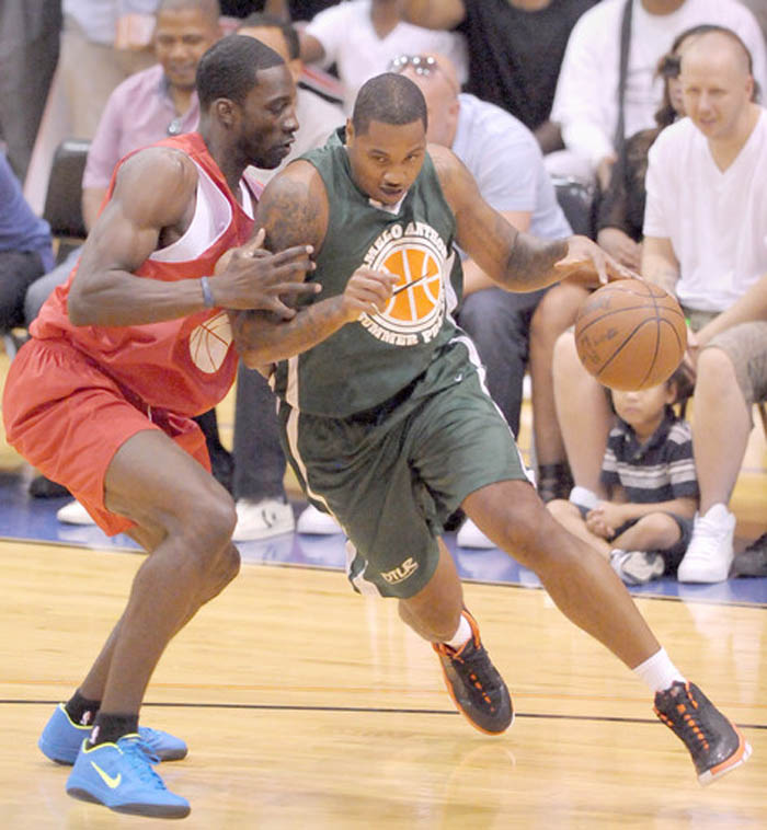 Jeff Green wearing Nike Zoom Hyperfuse 2011 Low