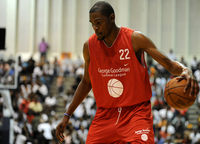 Kevin Durant Dropped 59-Points for Goodman League