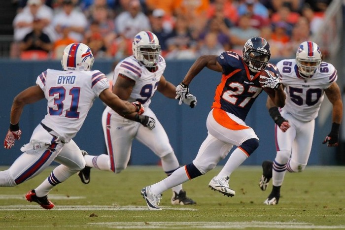 Knowshon Moreno wearing Reebok U-Form 4Speed Low M4