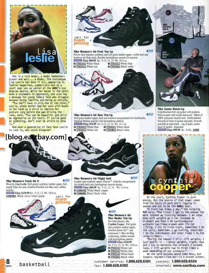 Eastbay Memory Lane: WNBA Greats, Lisa Leslie and Cynthia Cooper