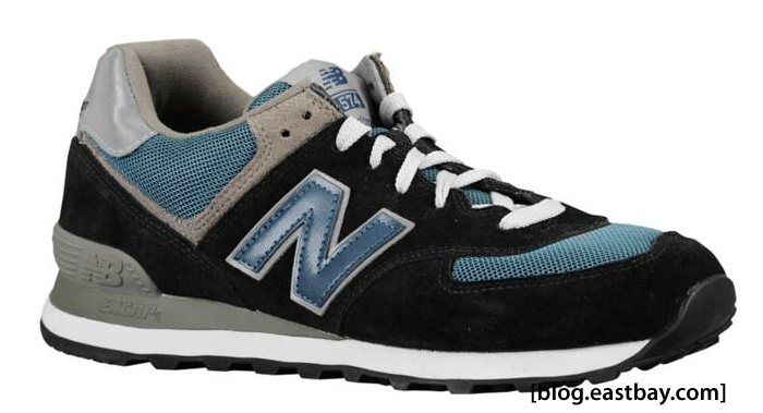 New Balance 574 Suede Navy/Blue/Grey