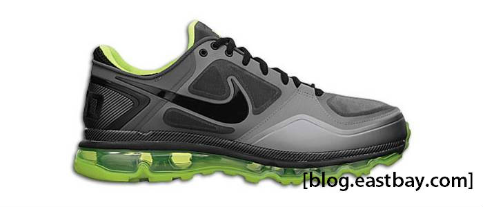 new style 5d2a0 48d11 Nike Air Trainer 1.3 Max Rivalry Oregon Stealth Black Cool Grey Volt  504735-007