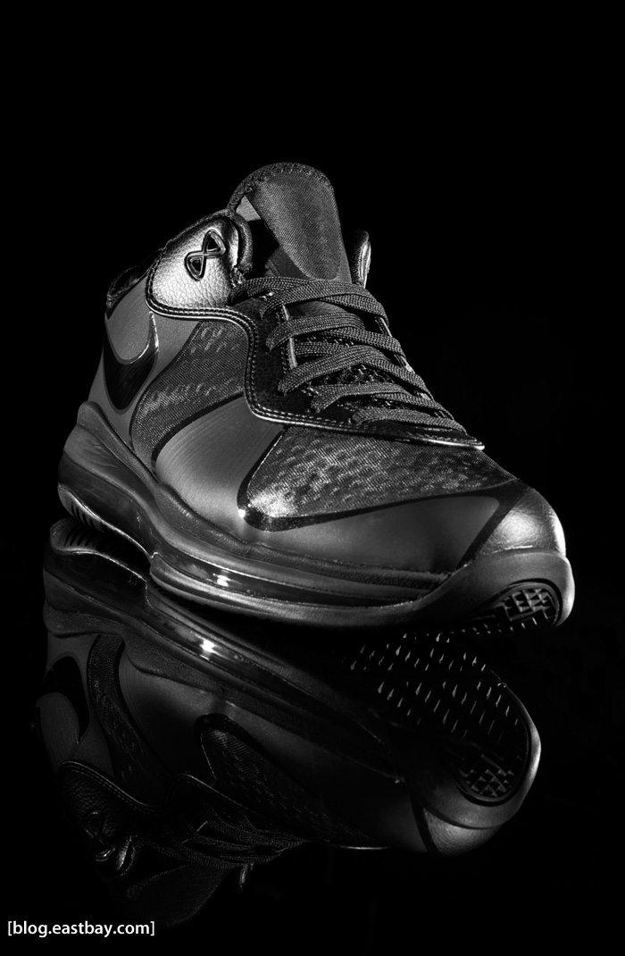 Nike LeBron 8 Low Black Detailed Photos