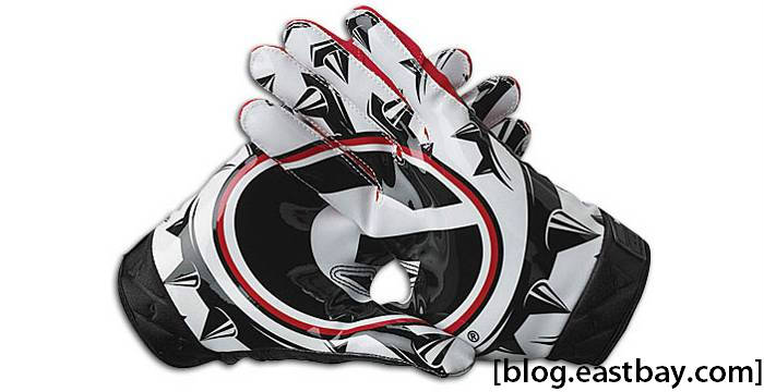 Nike Vapor Jet Premium Rivalry Gloves Georgia Bulldogs