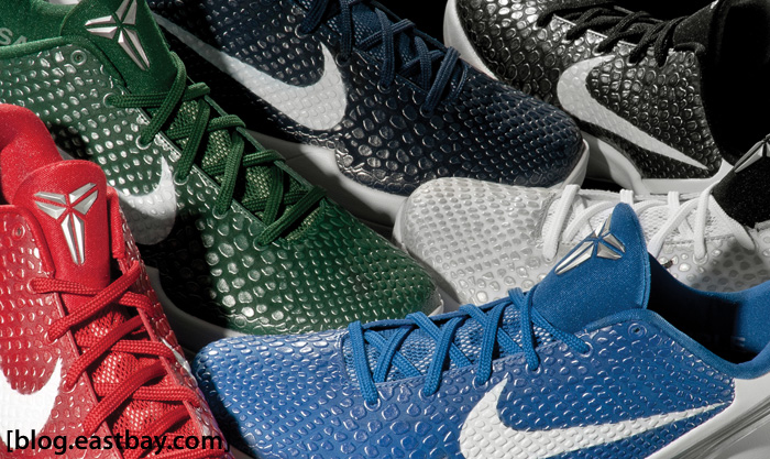 Eastbay Photo of the Week: Nike Zoom Kobe VI Colorways
