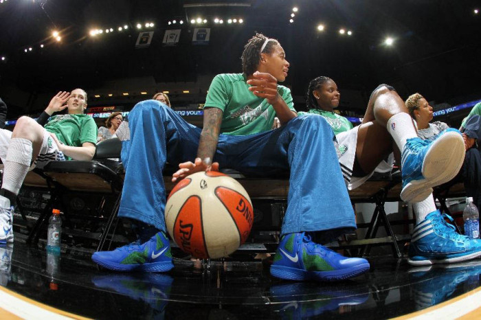 Seimone Augustus in the Hyperfuse 2011.