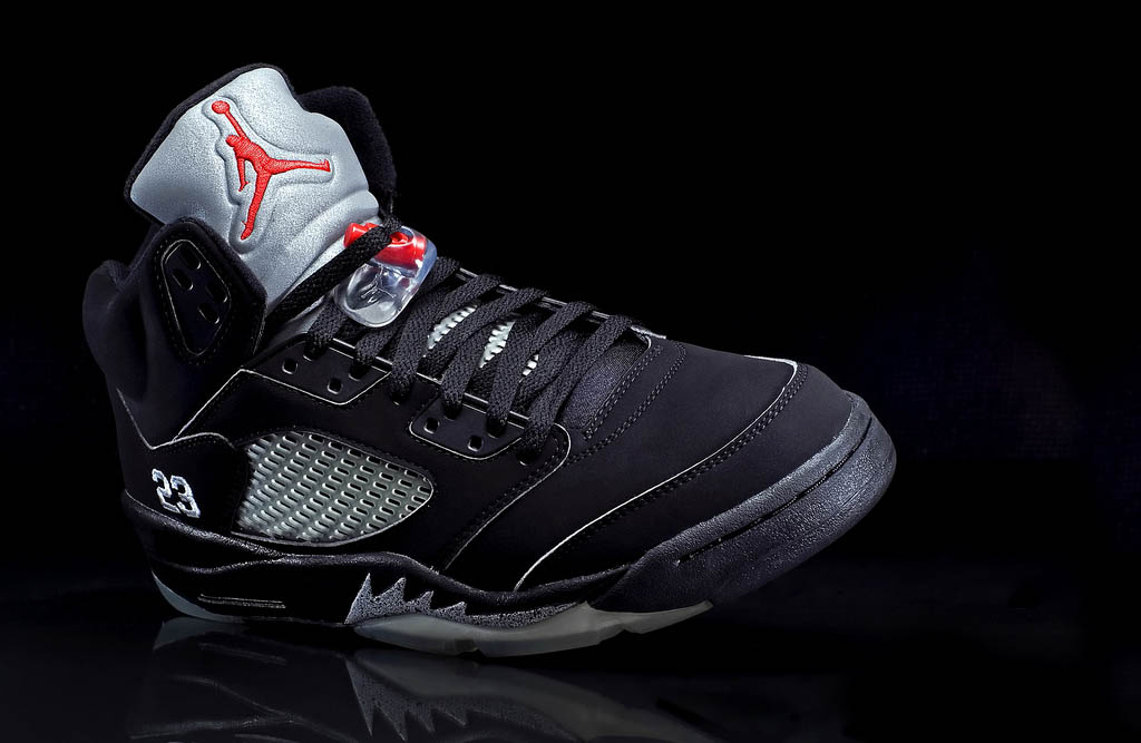 air jordan v black metallic wallpaper