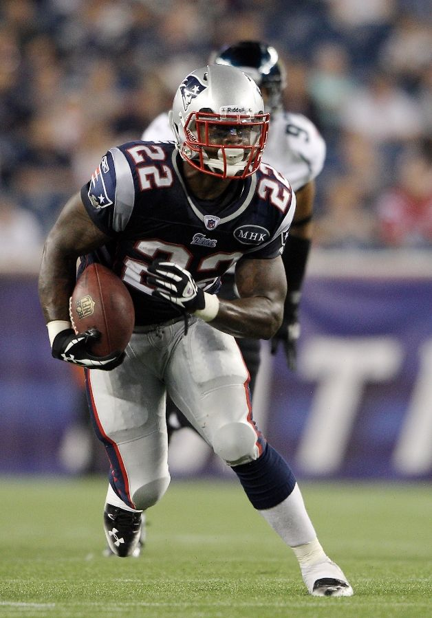 Stevan Ridley wearing Under Armour Football Cleats
