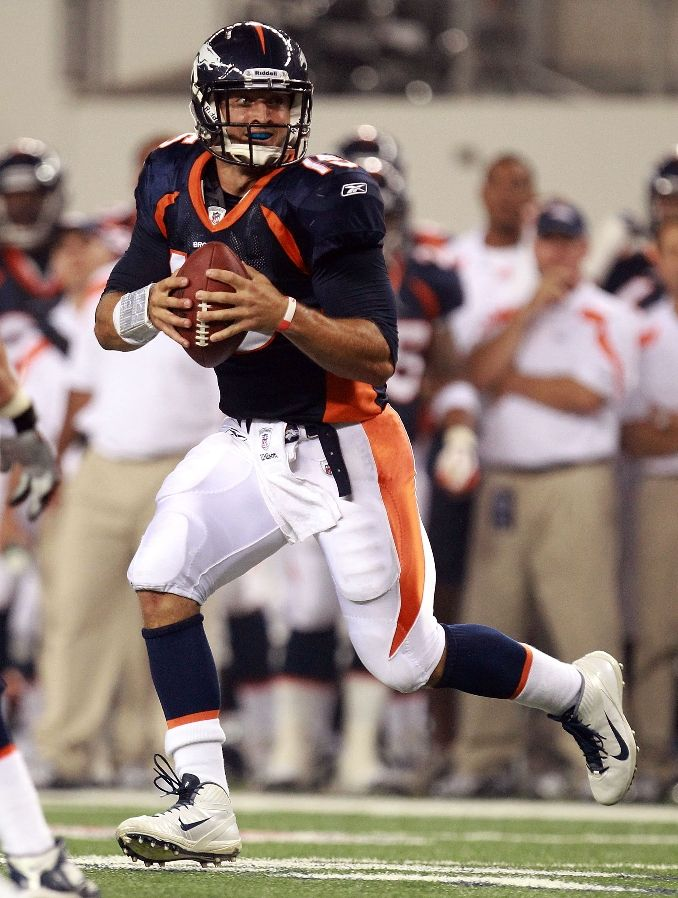 Tim Tebow wearing Nike Air Zoom Alpha Talon