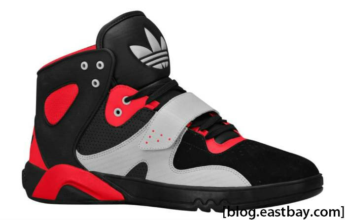 adidas Originals Roundhouse Mid Black Light Scarlet Ice Grey G49472 Profile