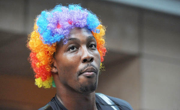 Dwight Howard Clowns Around in adidas Crazy Light Tokyo Japan 7