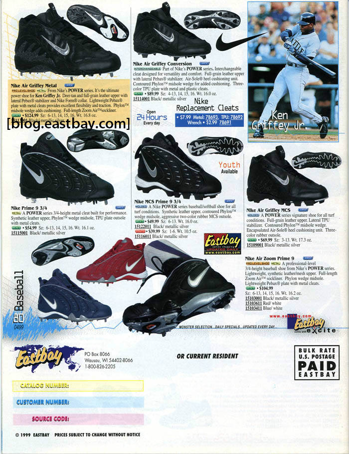 Eastbay Memory Lane: Nike Baseball Classics