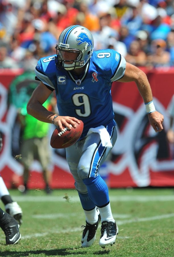 Matthew Stafford wearing the Nike Zoom Vapor Carbon Fly