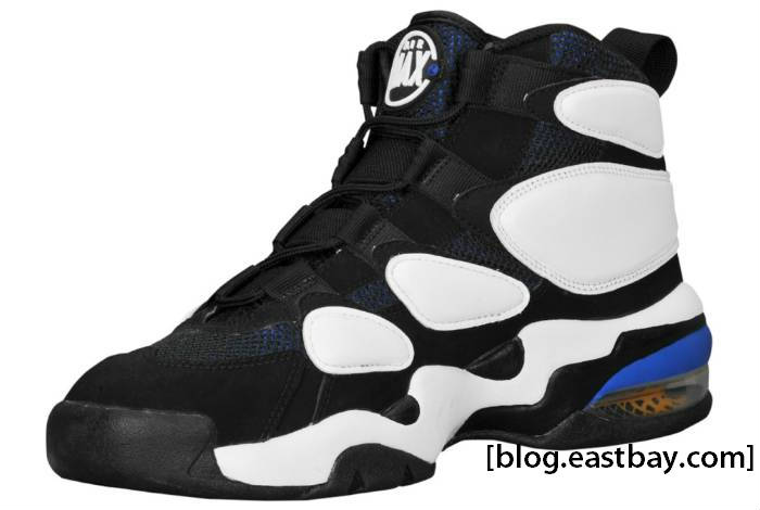 Nike Air Max2 Uptempo Black White Pictures to pin on Pinterest