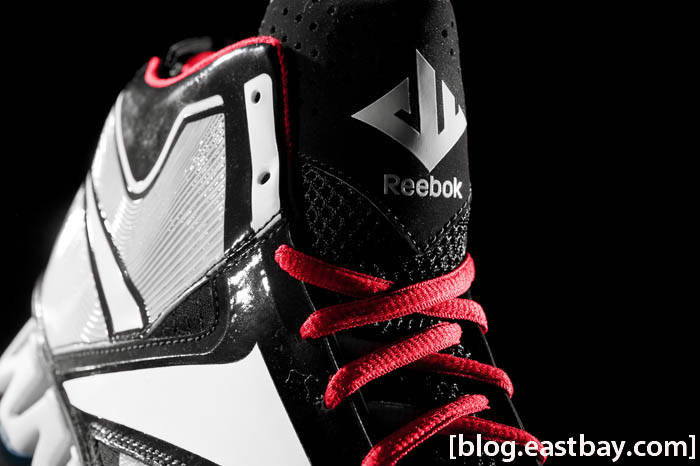 Reebok Zig Encore John Wall Black White Red Ice J84856 Tongue
