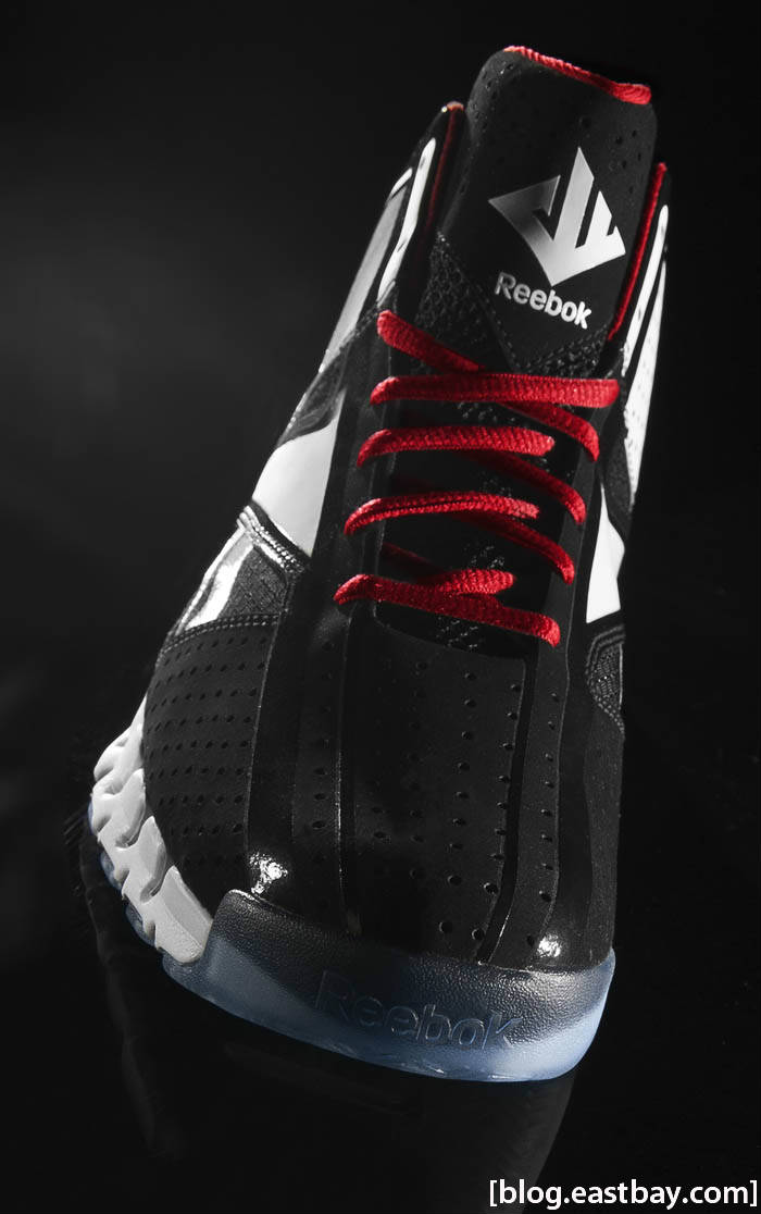 Reebok Zig Encore John Wall Black White Red Ice J84856 Front