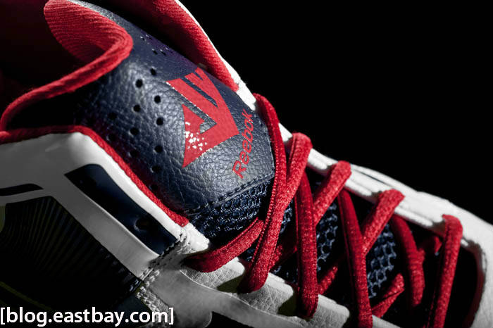 Reebok Zig Encore John Wall White Navy Red Ice Front