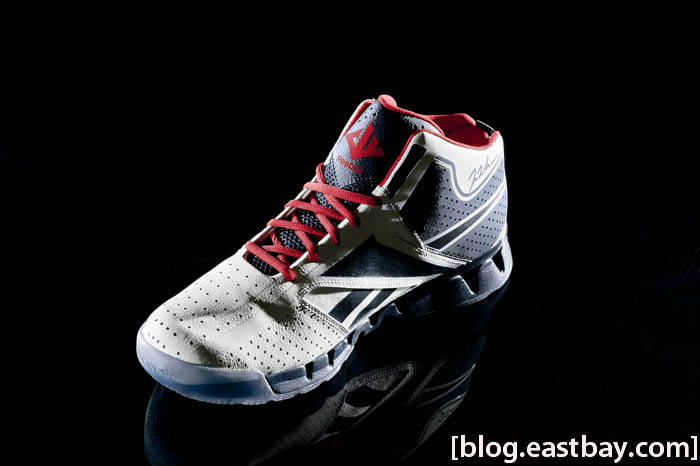 Reebok Zig Encore John Wall White Navy Red Ice Medial