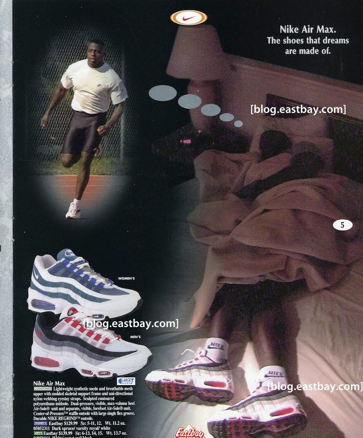 online store b6f9f 23515 Eastbay Memory Lane  Classic Nike Air Max 95 Ad