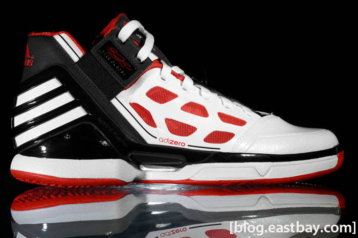 adidas adiZero Rose White Red Black G22888 1