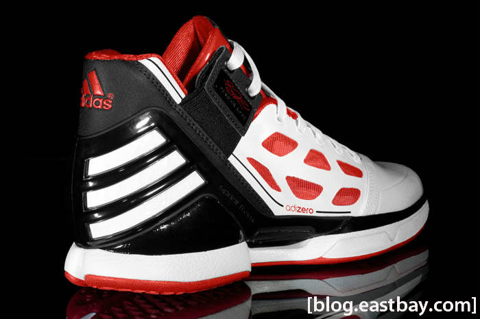adidas adiZero Rose White Red Black G22888 2