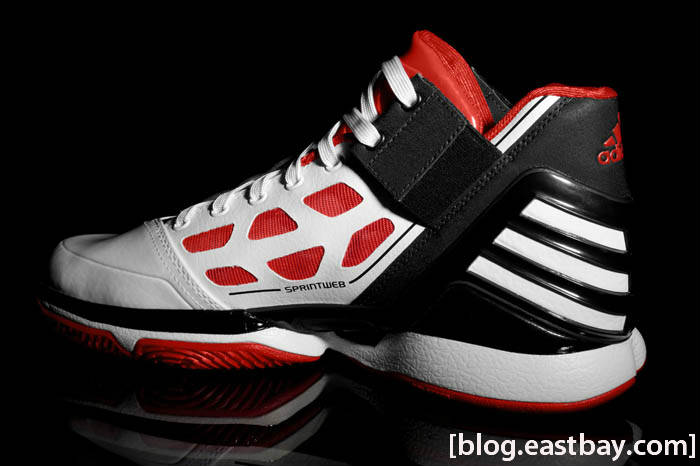 adidas adiZero Rose White Red Black G22888 3
