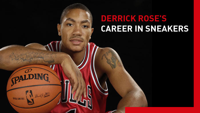 Derrick Rose's Career in Sneakers