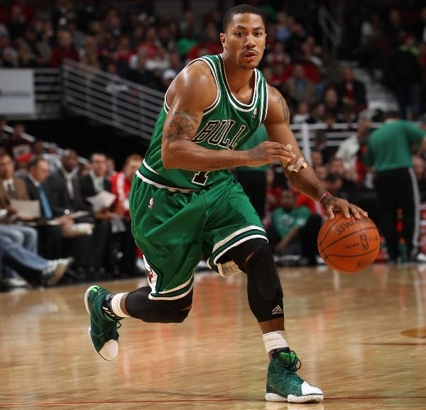 Derrick Rose's Career in Sneakers – adidas adiZero Rose 1.5 St. Patrick's Day