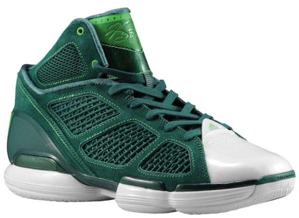 Derrick Rose's Career in Sneakers – adidas adiZero Rose 1.5 St. Patrick's Day 2