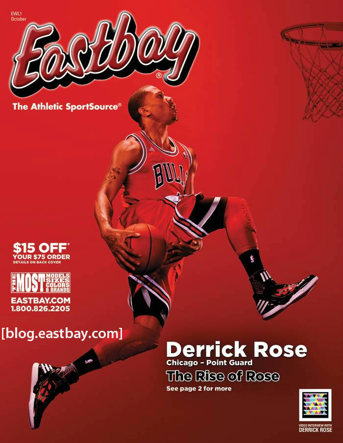 Eastbay Magazine Derrick Rose Cover October 2011 EWL1 1