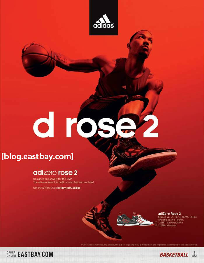 Eastbay Magazine Derrick Rose Cover October 2011 EWL1 3
