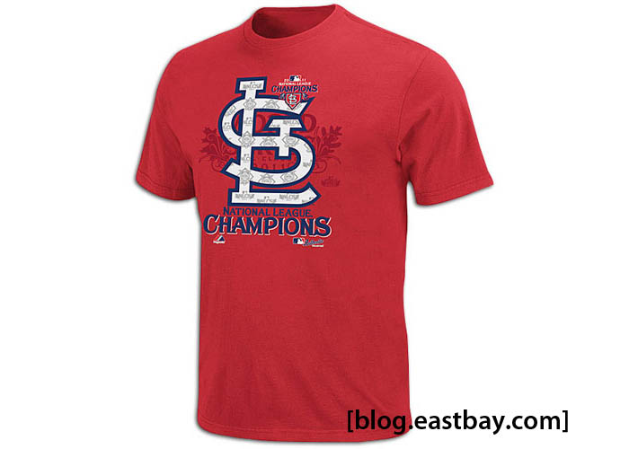 Majestic 2011 MLB League Championship T-Shirt - St. Louis Cardinals