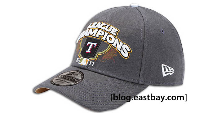 New Era 2011 MLB League Championship Hat - Texas Rangers
