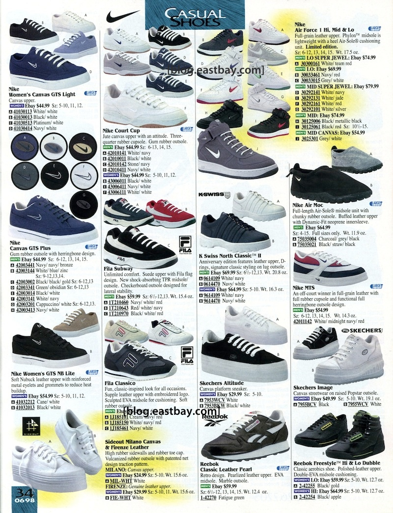 5d2ad5105a97 Eastbay Memory Lane   98 Casual Classics